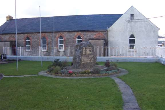 St Josephs Church The Rock Ballyshannon - Rock Monument and Rock Parochial Hall